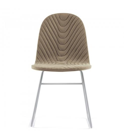 Krzesło Mannequin - 02 - kawowy