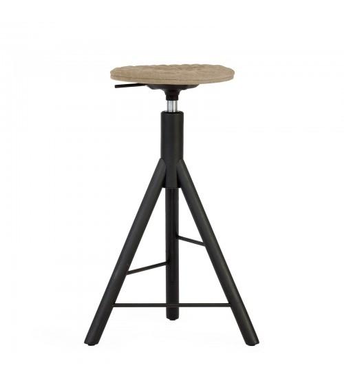 MannequinBar chair black - 01 - coffee
