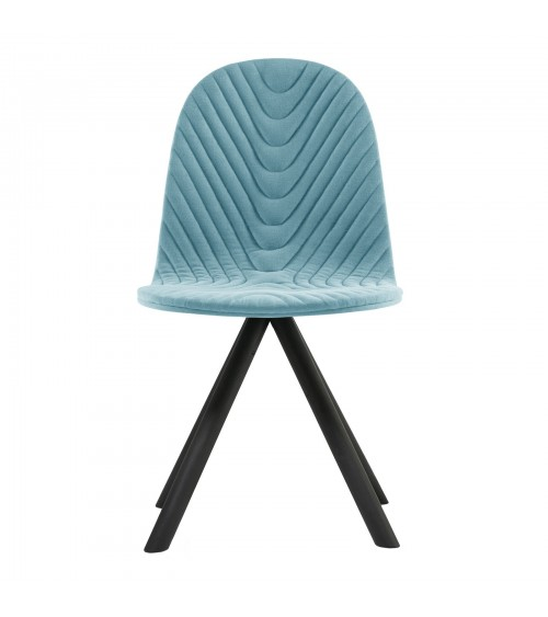 Mannequin chair - 01 black - błękit
