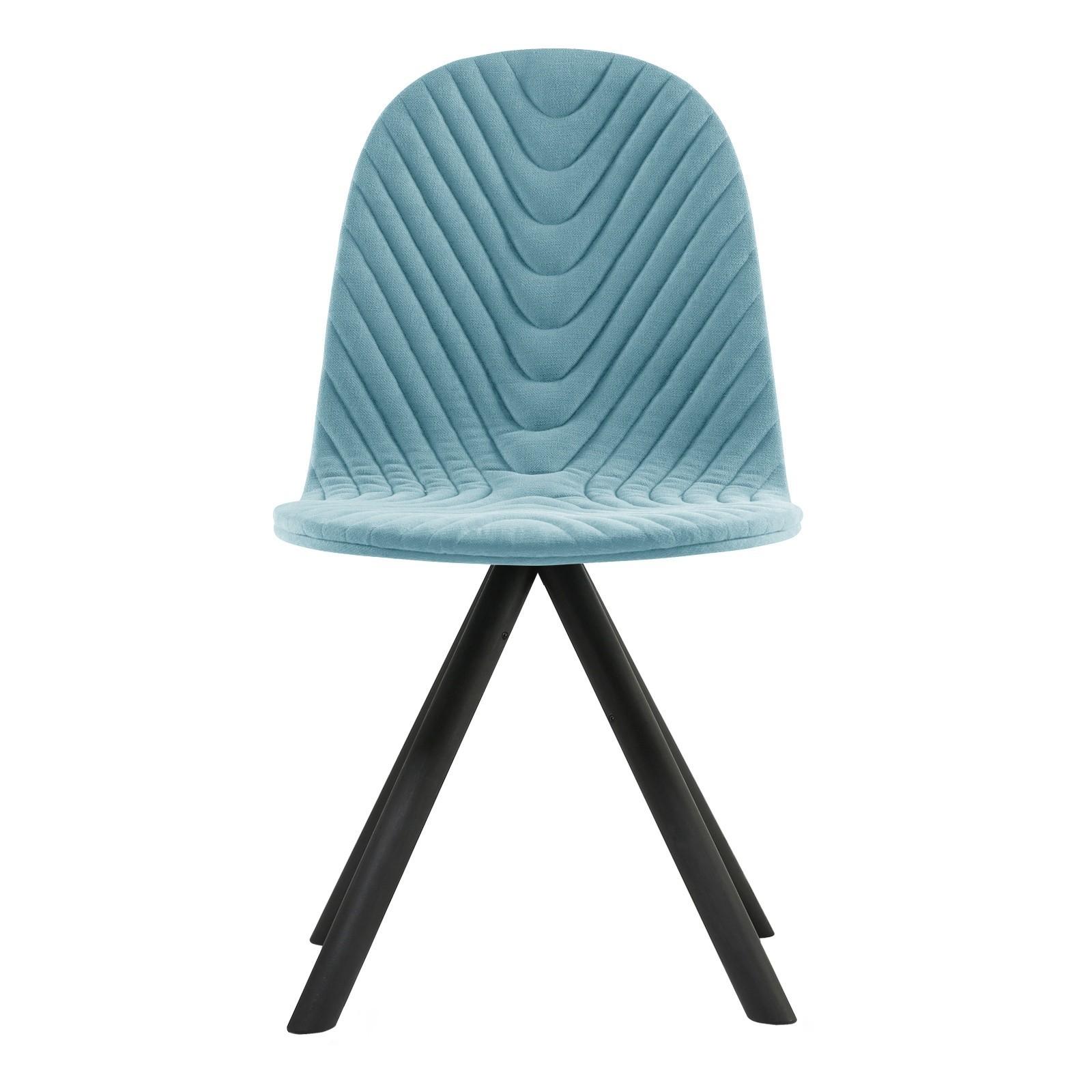 Krzesło Mannequin - 01 black - błękit