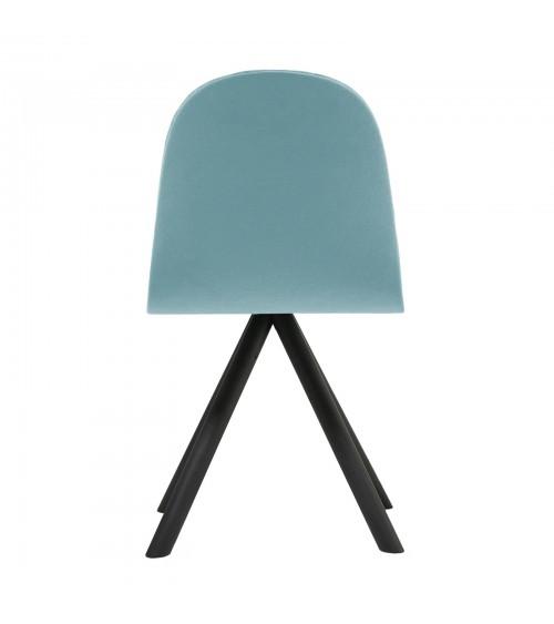 Mannequin chair - 01 black - błękit