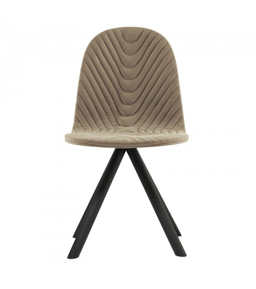 Mannequin chair - 01 black - coffee