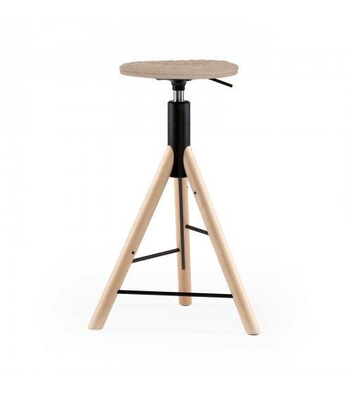MannequinBar chair natural - 01 - coffee