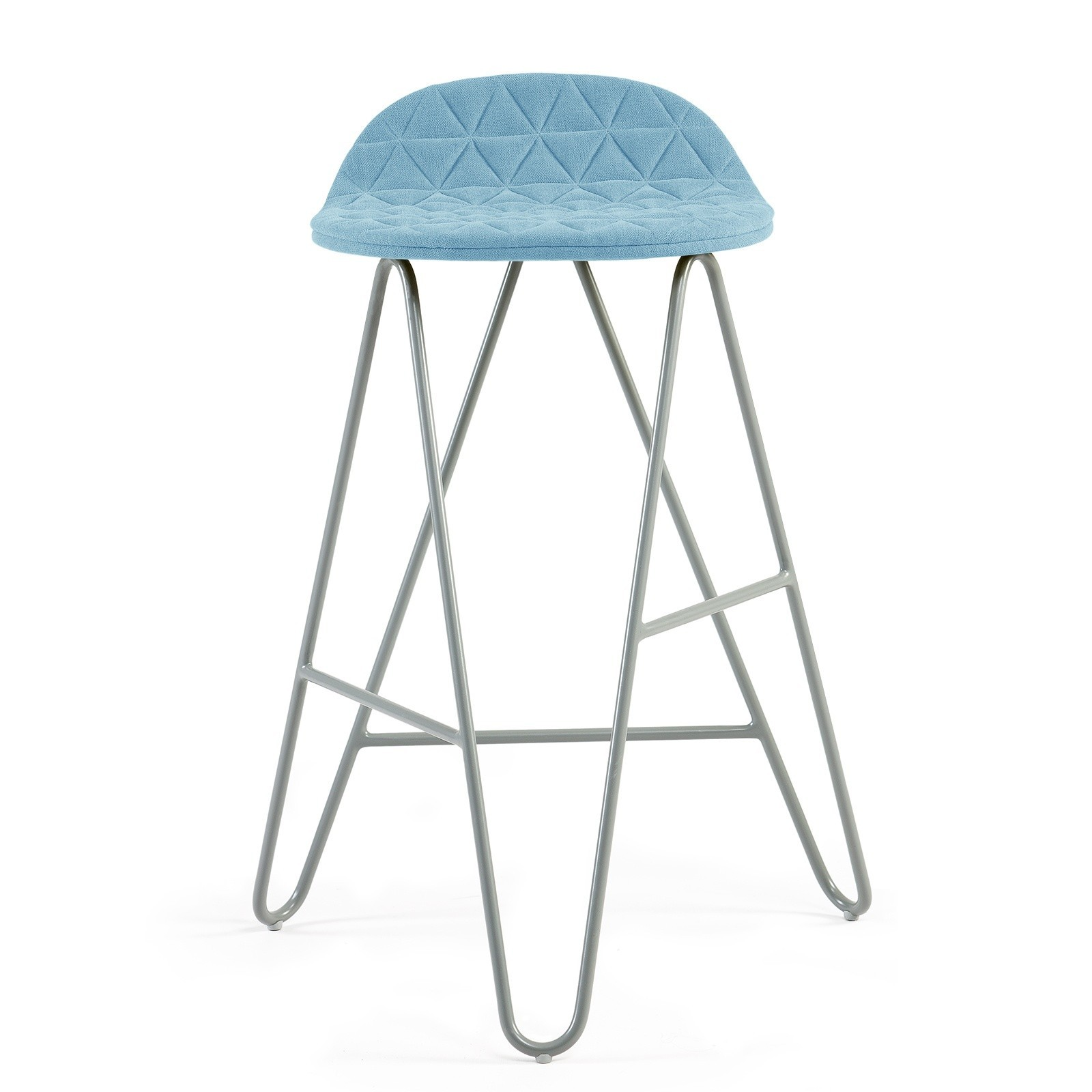 MannequinBar Low chair - 02 - light blue
