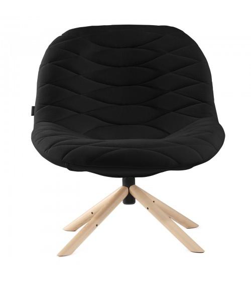 Fotel Mannequin Lounge 01 - czarny