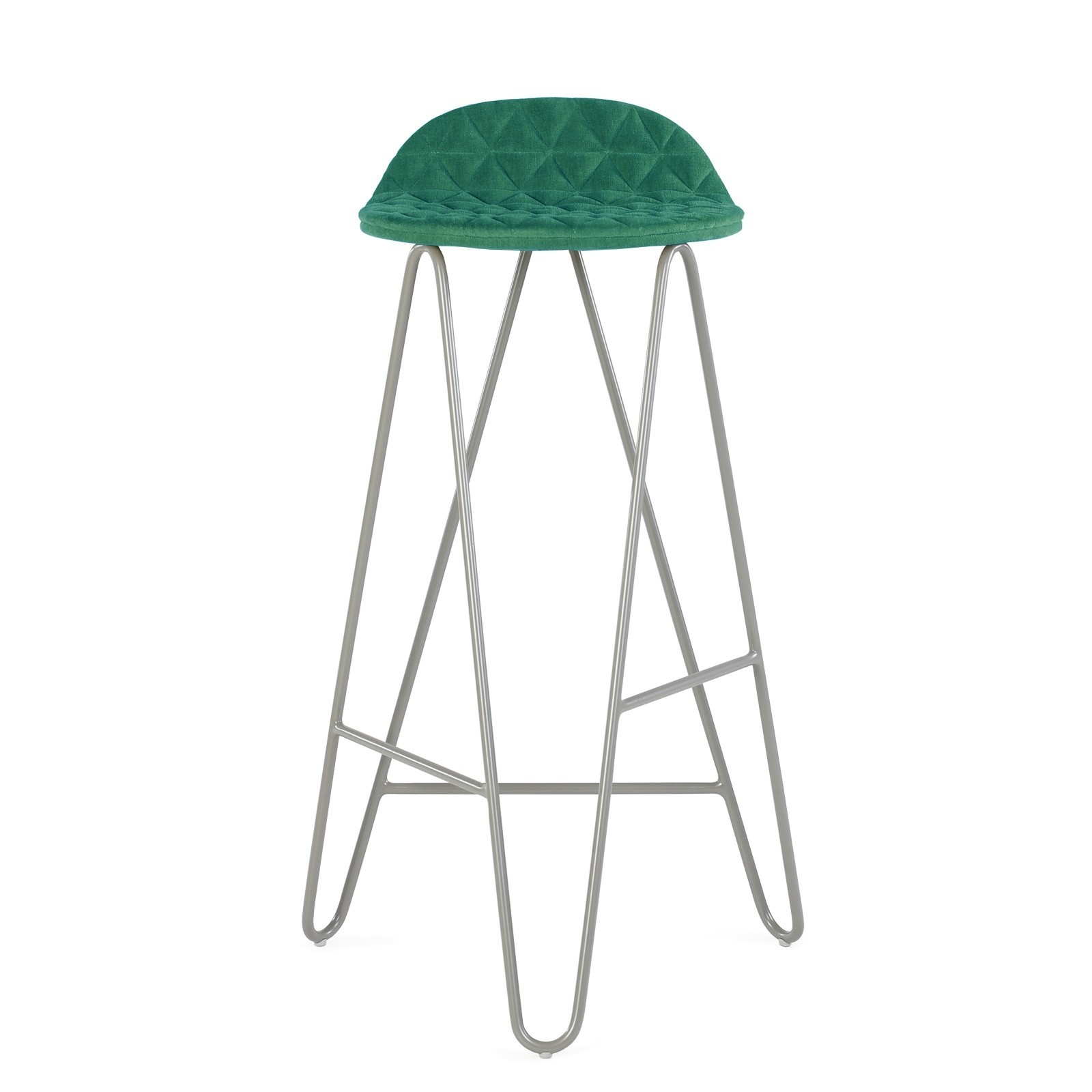 Krzesło barowe Mannequin Bar 02 turkus