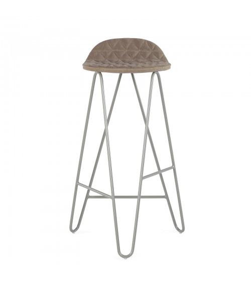 Krzesło barowe MannequinBar - 02 - kawowy