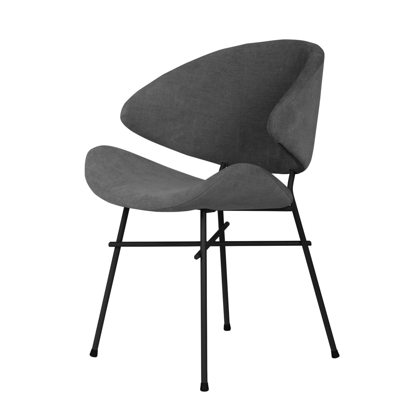 Krzesło Cheri - trend - ciemny szary