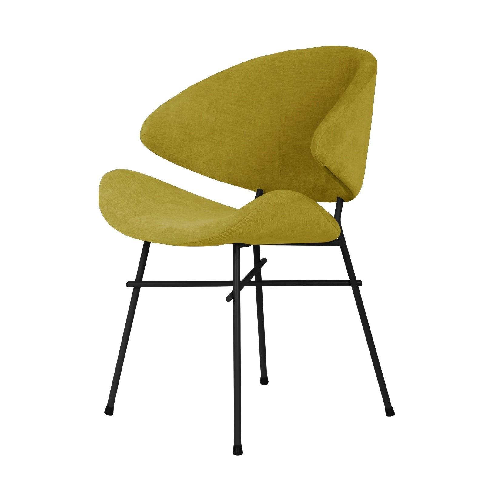 Krzesło Cheri - trend - musztardowy