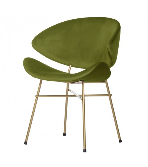 Cheri Gold - velours - chair - green