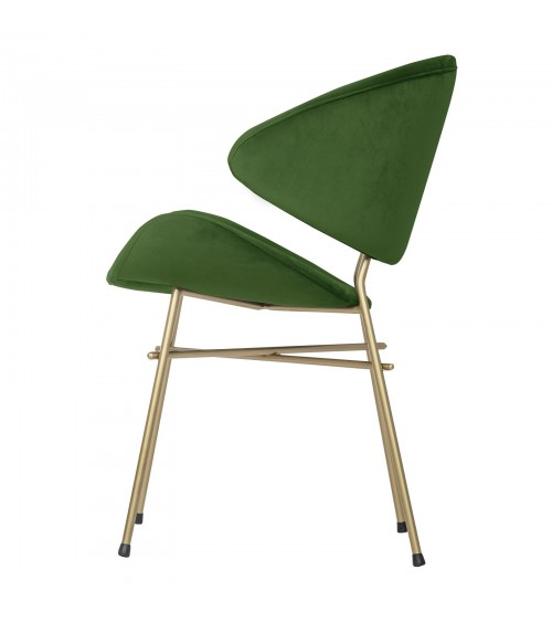 Cheri Gold - velours - chair - bottle - green
