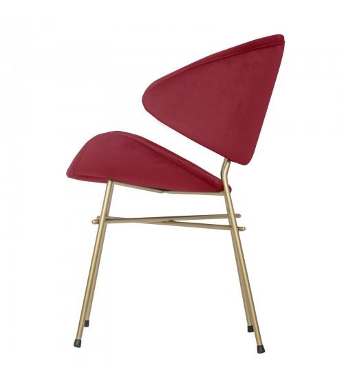 Cheri Gold - velours - chair - red