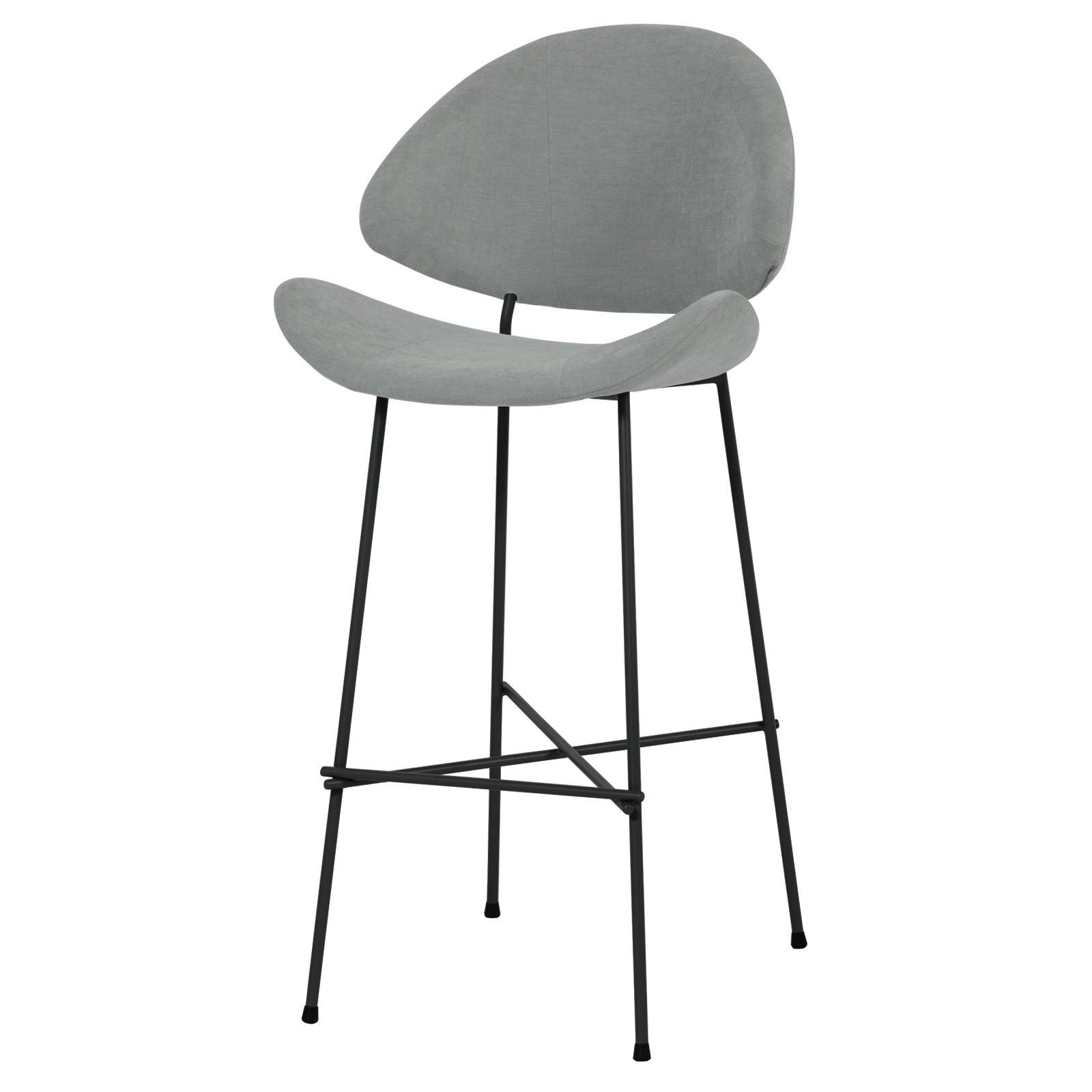 Krzesło barowe Cheri Bar - trend - szary