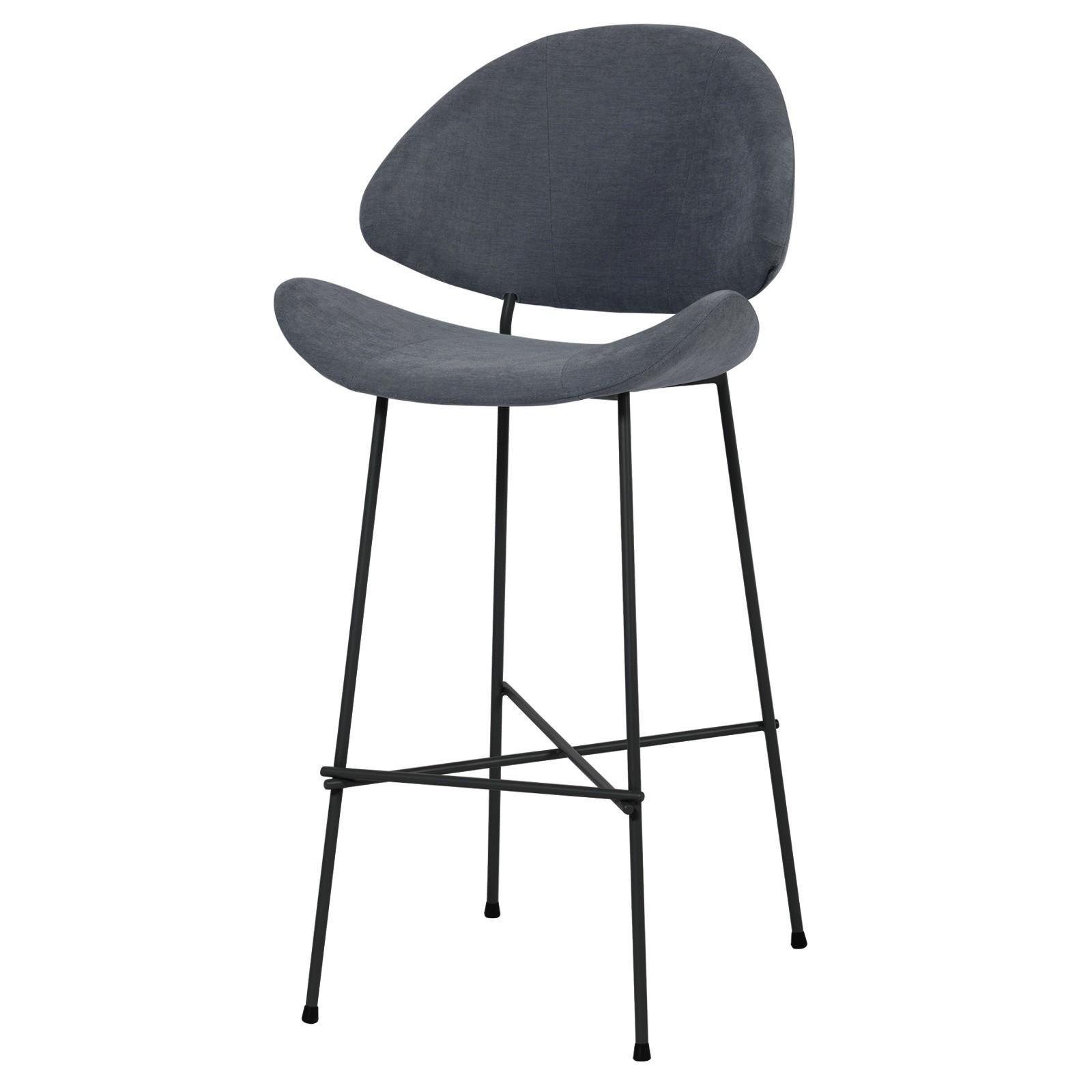 Krzesło barowe Cheri Bar - trend - ciemno szary