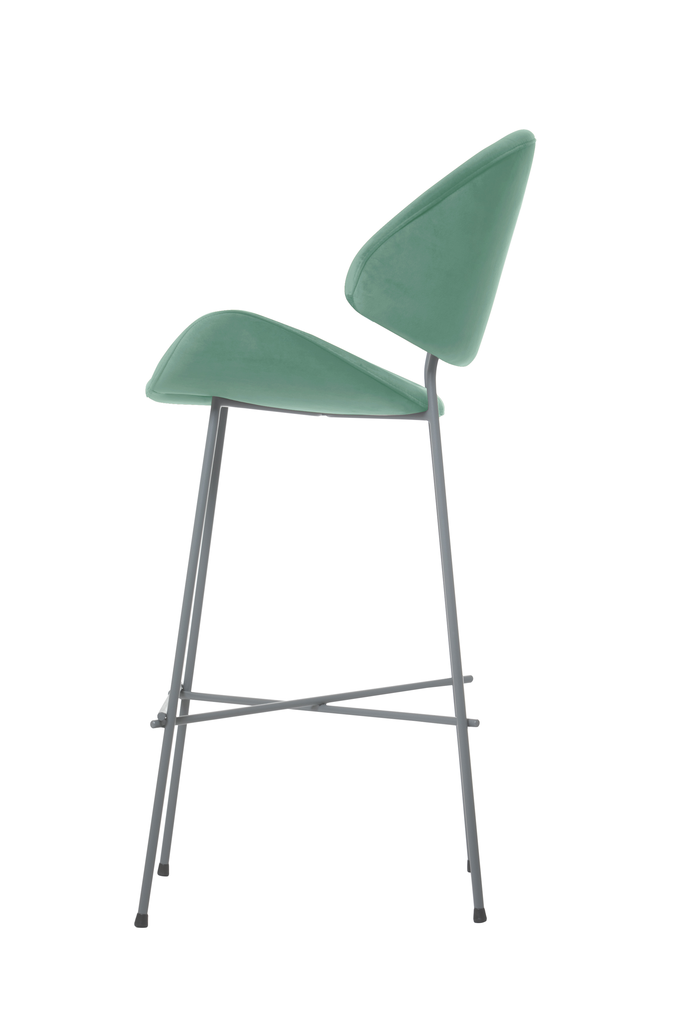 Krzesło barowe Cheri bar kolor miętowy