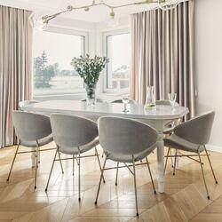 #cherigold #krzeslocheri #cherichair #ikershop @to_be_design_studio @werteloberfell  #madeinpoland #design #wyprodukowanewpolsce #wnetrze #furnituredesign #projektowaniewnętrz #jadalnia #stylskandynawski