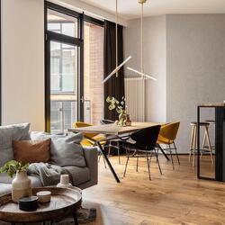 Kolejna świetna realizacja @fuga_architektura_wnetrz z krzesłami Cheri w jadalni! i #cherichair #krzeslocheri #jadalnia #dinningroom #architekturawnętrz #nowoczesnewnętrze #loft #loftdesign #loftarchitecture #moderninterior #furnituredesign #interiordesign #apartmentinterior @fuga_architektura_wnetrz @werteloberfell  #ikershop #madeinpoland #wyprodukowanowpolsce @centrum_praskie_koneser #plackonesera